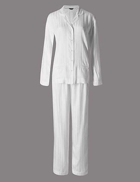 Pure Modal Long Sleeve Pyjamas
