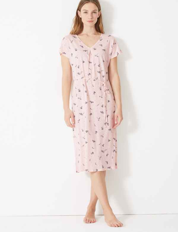 bdd70d53f8f Cotton Modal Jersey Bee Nightdress