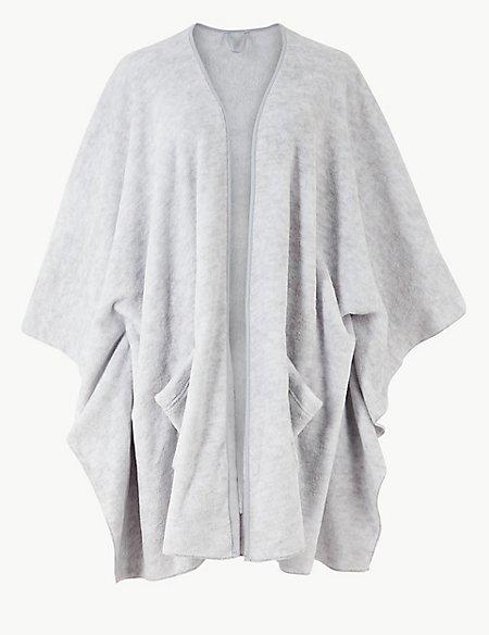 Fleece Wrap Dressing Gown