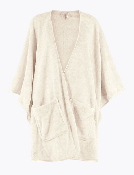 Fleece Short Dressing Gown