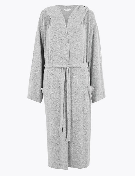 Cosy Knit Wrap Dressing Gown