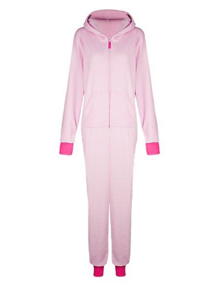 Hooded Percy Pig™ Micro Fleece Onesie