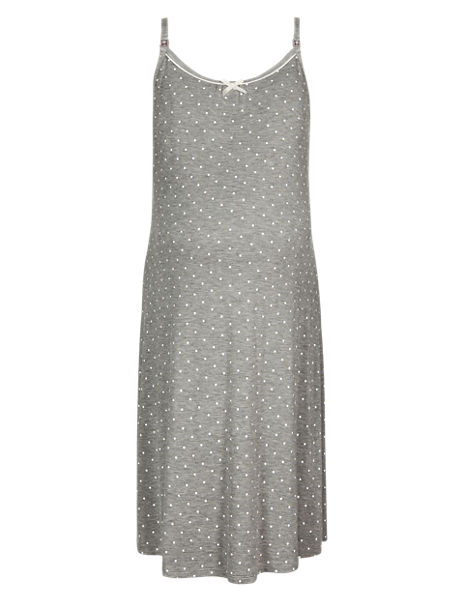 Maternity Spotted Chemise