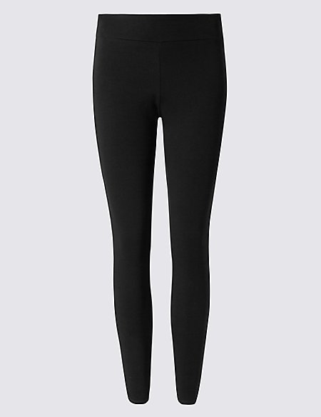 Cotton Rich Quick Dry Leggings