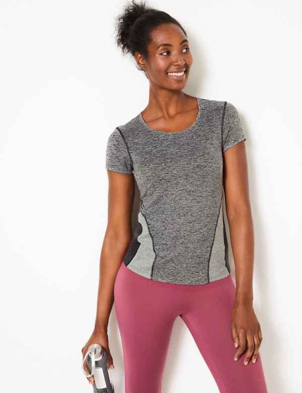 963e41b75383e Jaspe Quick Dry Short Sleeve Top