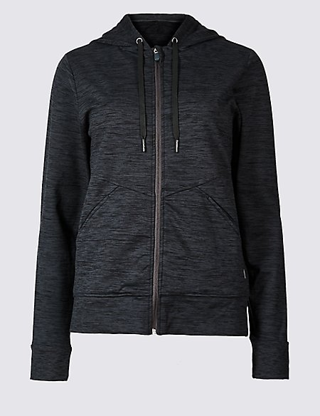 Brushed Hooded Top