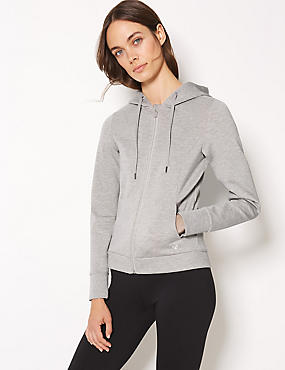 Breathable Long Sleeve Hooded Top