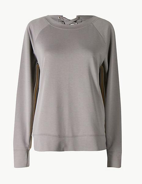 Quick Dry Feature Back Sweatshirt