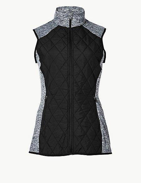 Quick Dry Quilted Gilet