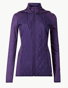 Quick Dry Long Sleeve Quilted Jacket
