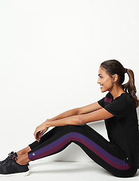 Active Cotton Rich Quick Dry Leggings