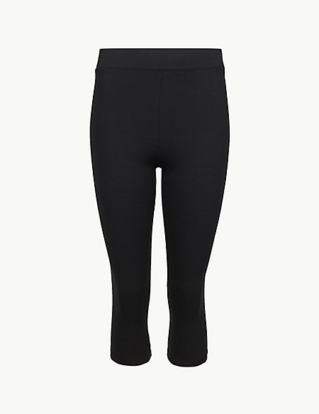 Quick Dry Cropped Sport Leggings