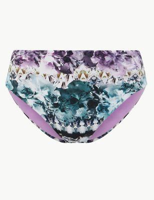 d76a3abb846 Ombre Print High Waisted Bikini Bottoms £16.00