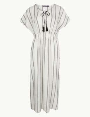 Striped Kaftan Beach Dress by Marks & Spencer