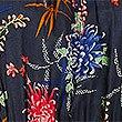 Floral Print Beach Dress, NAVY MIX, swatch