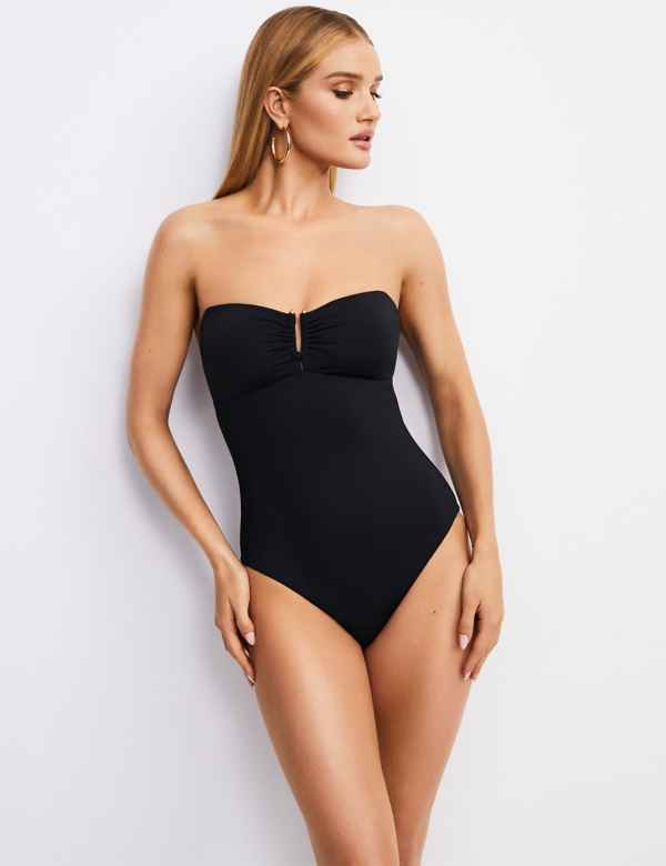 7280e8e64f95e Secret Slimming™ Padded Bandeau Swimsuit