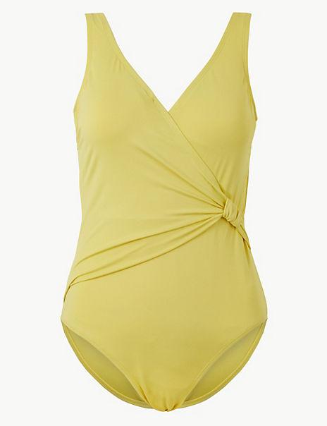 Secret Slimming™ Padded Plunge Swimsuit