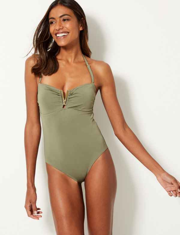 0f19c0e4bff60 Secret Slimming™ Bandeau Swimsuit