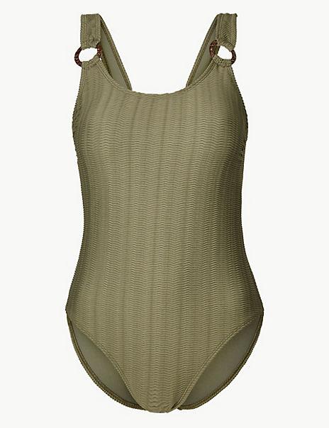 Padded Scoop Neck Swimsuit