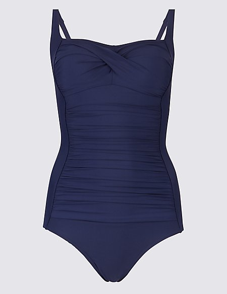 Secret Slimming™ Square Neck Swimsuit