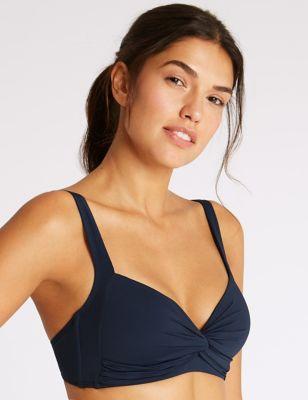 Non-Wired Plunge Bikini Top