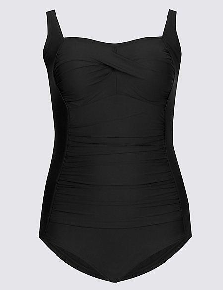 PLUS Secret Slimming™ Bandeau Swimsuit