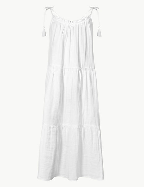 Pure Cotton Slip Beach Dress
