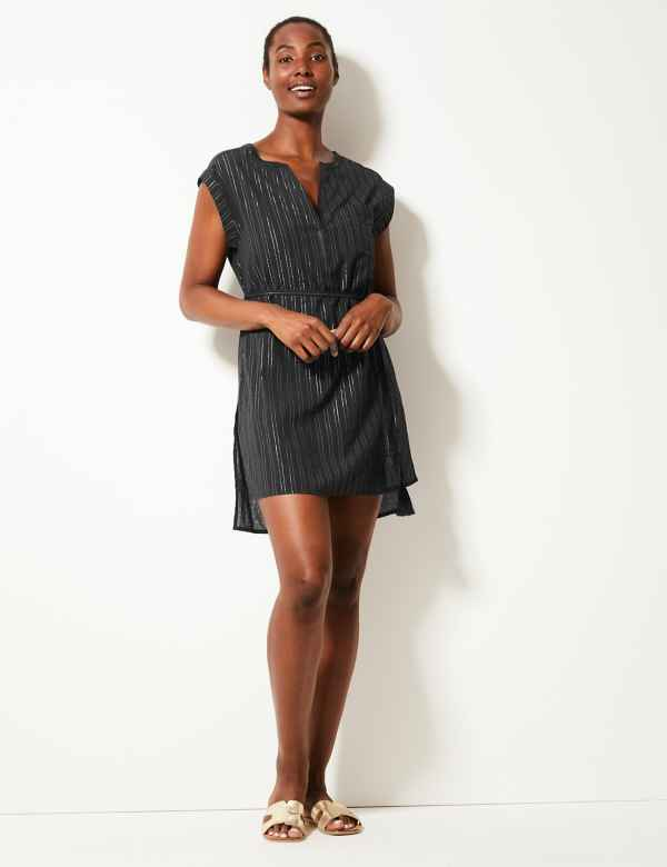 845927599d8b Cotton Rich Shirt Beach Dress