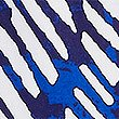 Zig Zag Print Beach Shorts, BLUE MIX, swatch