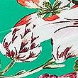 Tankinitop in bandeaustijl met bloemenprint, GROEN MIX, swatch