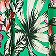 Floral Print Strappy Slip Beach Dress, GREEN MIX, swatch