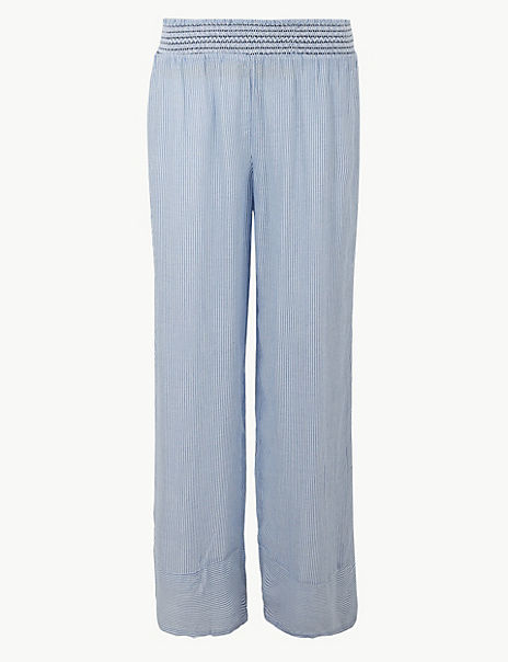 Pure Modal Flared Beach Trousers
