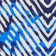 Secret Slimming™ Printed Bandeau Swimsuit, BLUE MIX, swatch