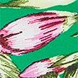 Floral Print Roll Top Bikini Bottoms, GREEN MIX, swatch
