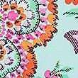 Secret Slimming™ Paisley Print Plunge Swimsuit, GREEN MIX, swatch
