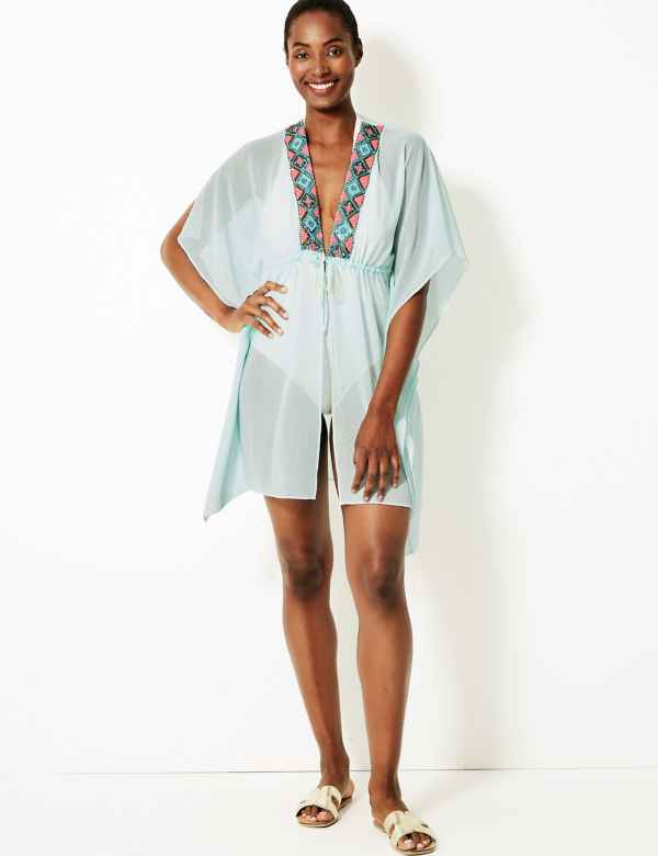 6f169c746b Womens Beach Cover Ups & Kaftans | Ladies Harem Trousers | M&S