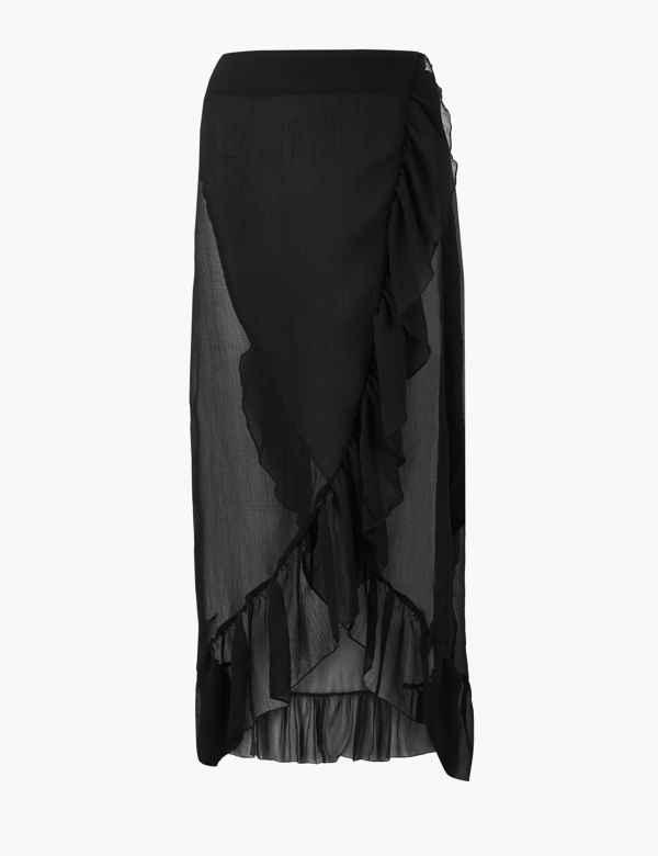 0ccc61c70ee Ruffle Beach Slip Skirt. New
