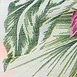 Floral Print Ruffle Sarong, CORAL MIX, swatch