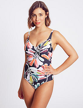 Secret Slimming™ Printed Wired Swimsuit DD-G