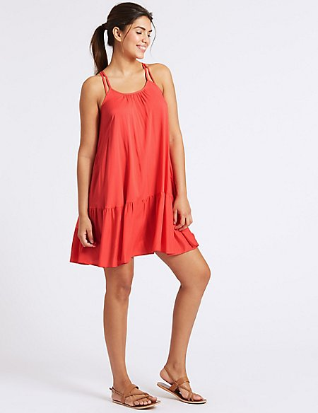 Woven Beach Dress