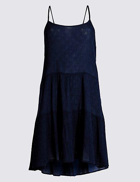 Crinkle Beach Dress
