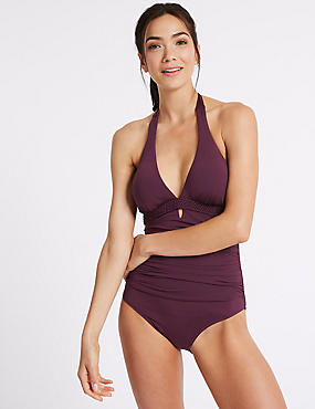 Secret Slimming™ Non-Wired Plunge Swimsuit