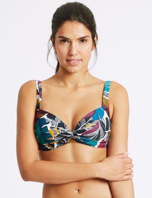 Print Bandeau Bikini