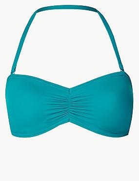 Non-Wired Bandeau Bikini Top