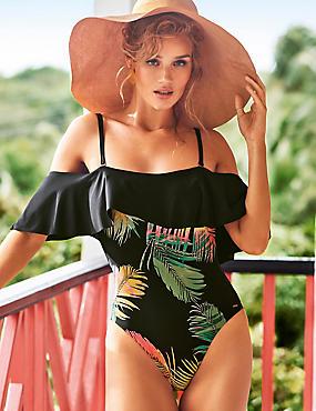 Secret Slimming™ Off the Shoulder Swimsuit