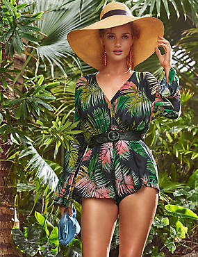 Pure Modal Palm Print Playsuit