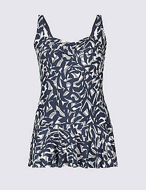 PLUS Secret Slimming™ Skirted Swimsuit