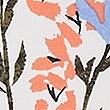 Floral Print Hipster Bikini Bottoms , WHITE MIX, swatch