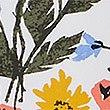 Tankinitop met vetersluiting en bloemenprint, WIT MIX, swatch