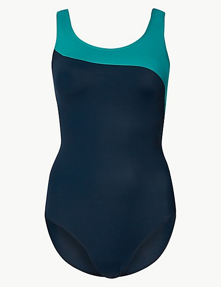 Secret Slimming™ Colour Block Swimsuit